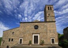 San Giuliano church in Faleria Royalty Free Stock Photos