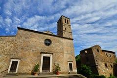San Giuliano church in Faleria Stock Images