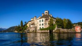 SAN Giulio Abbey Στοκ Φωτογραφία