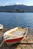 San giulio island Stock Photography