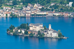 San Giulio island Royalty Free Stock Photography