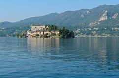 San Giulio Island - Lake Orta Stock Images