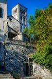 San Giulio tower Stock Photo