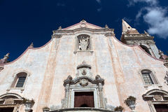 San Giuseppe church, Taormina, Sicily Royalty Free Stock Photo