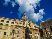 San Giuseppe dei Teatini, Palermo Stock Images