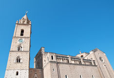 San Giustino's Cathedral in Chieti Abruzzo Royalty Free Stock Image