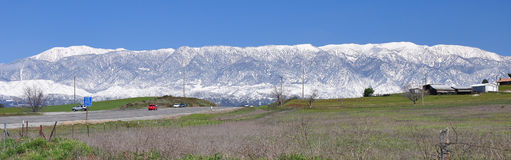 San Gorgonio mountain range Royalty Free Stock Photography