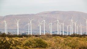San Gorgonio Pass Wind Farm 2 Royalty Free Stock Photo
