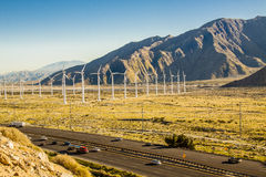San Gorgonio wind Farm Royalty Free Stock Photos
