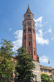 San Gottardo Bell Tower, Milan, Italy Royalty Free Stock Photo