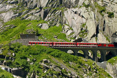 San Gotthard Pass Royalty Free Stock Image