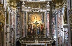 San Gregorio Armeno church, Naples Italy Stock Image