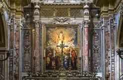 San Gregorio Armeno church, Naples Italy Royalty Free Stock Photos