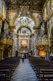 San Gregorio Armeno church royalty free stock image