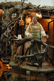 San Gregorio Armeno craftsmen Royalty Free Stock Images