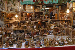 San Gregorio Armeno craftsmen Stock Photography