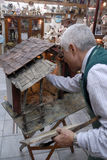San Gregorio Armeno craftsmen Royalty Free Stock Photos