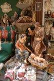 San Gregorio Armeno craftsmen Stock Images
