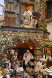San Gregorio Armeno craftsmen Royalty Free Stock Photo
