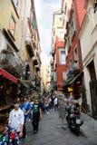 San gregorio armeno in Naples Italy Stock Image