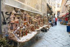 San gregorio armeno in Naples Italy Royalty Free Stock Photography