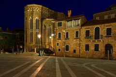 San Gregorio church in Venice. Italy. Stock Photography