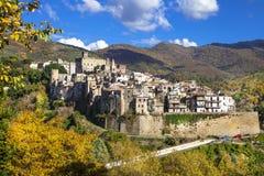 San gregorio da sassola, Lazio, Italy Stock Photos