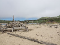 San Gregorio State Beach Royalty Free Stock Photos