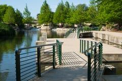 San historique Antonio River Walk images libres de droits