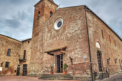 San Iacopo e Filippo church Royalty Free Stock Photography