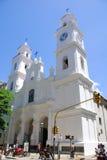 San Ignacio Church Arkivbilder