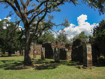 San Ignacio Jesuit Mission Ruins Royalty Free Stock Photos