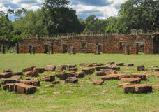 San Ignacio Jesuit Mission Ruins Stock Photos
