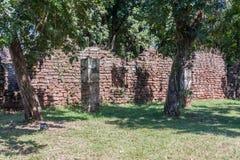 San Ignacio Jesuit Mission Ruins Royalty Free Stock Photo