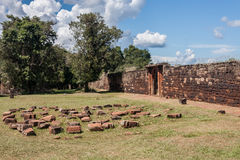 San Ignacio Jesuit Mission Ruins Royalty Free Stock Image