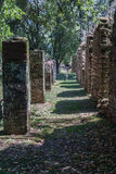 San Ignacio Jesuit Mission Ruins Royalty Free Stock Photography