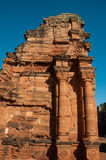 San Ignacio Jesuites Mini ruiny, Misiones, Argentyna obraz royalty free