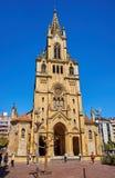 San Ignacio kyrka i San Sebastian spain Fotografering för Bildbyråer