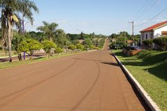 San Ignacio miasteczko, Argentyna zdjęcie royalty free