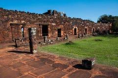 San Ignacio Mini Jesuites ruins, Misiones, Argentina Royalty Free Stock Photos