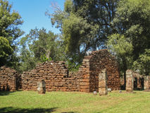 San Ignacio Mission Argentina Royalty Free Stock Images