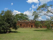 San Ignacio Mission Argentina Royalty Free Stock Photography