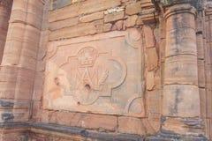 San Ignacio Mission fördärvar i Argentina Royaltyfri Fotografi