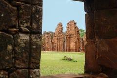 San Ignacio Ruins Arkivfoton