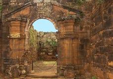 San Ignacio Ruins stockfoto