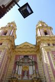 San Ildefonso Church Royalty Free Stock Photography