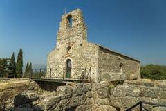 San Ioannis Prevesa Grecia di Nekromanteio Fotografia Stock Libera da Diritti