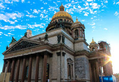 San Isaac Cathedral Fotografia Stock Libera da Diritti