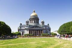 San Isaac Cathedral in San Pietroburgo immagini stock