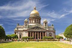San Isaac Cathedral in San Pietroburgo, fotografie stock libere da diritti
